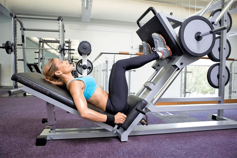HOW TO USE THE LEG PRESS